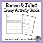 Identifying Irony in Romeo & Juliet Review Activity