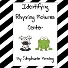Identifying Rhyming Pictures Center