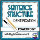 Identifying Sentence Structure PowerPoint