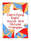 Identifying Triangles Acute Obtuse Right Coloring Geometry