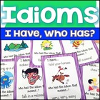 Idioms I Have, Who Has Printable Cards