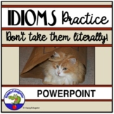 Idioms Interactive PowerPoint - Match Idioms to their Meaning
