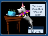Idioms Power Point Lesson and Interactive Quiz