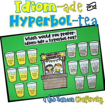 http://www.teacherspayteachers.com/Product/Idioms-and-Hyperboles-Craftivity-802240