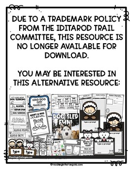 Iditarod Adopt a Dog Journal
