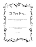 """""""If You Give..."""" Cause and Effect Stories"""