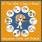 If You Give a Dog a Donut - Sequencing Activities