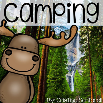 Camping Booklet(also in Spanish) and Marshmallow Math Acti