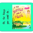 """If You Hopped Like a Frog"" Worksheet to go with Book"