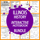 Illinois History Unit-State and Core Standard Aligned