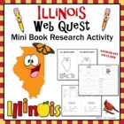 Illinois Web Quest Common Core Research Mini Book