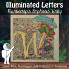 Illuminated Letters - Art Lesson
