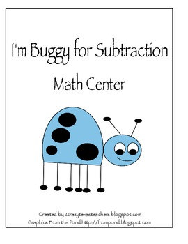 I'm Buggy for Subtraction