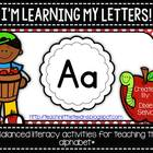 I'm Learning My Letters! {A-M Bundle}