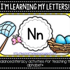 I'm Learning My Letters! {Bundle N-Z}