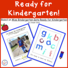 I'm Ready for Kindergarten