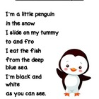 I'm a Little Penguin Poem