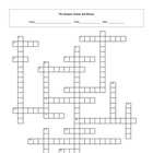 Immune System and Disease Crossword Puzzle with key