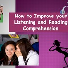 Improve Listening & Reading Comprehension Skills (Powerpoint)