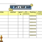 In-Class Reading Log - Hollywood Theme