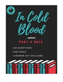In Cold Blood Part 4 Quiz