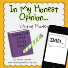Opinion Writing Craft and Project