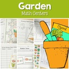 In the Garden- Math Center Fun (Spring)
