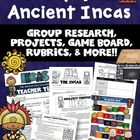 Inca Civilization Unit Lesson Plans and Answer Keys (Common Core)