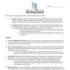 Independant Novel Reading Project