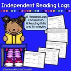 Independent Reading Logs - 16 Logs, Multiple Reading Skill