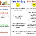 Independent Reading Rubric- Fake vs. Real Reading