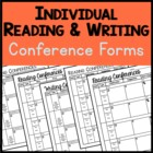 Individual Reading and Writing Conference Forms: A Tool fo