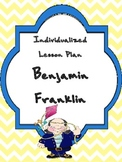 Individualized Lesson Plan: Benjamin Franklin