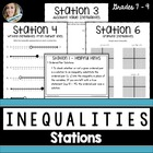 Inequalities Station Activities