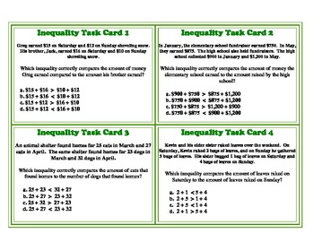 inequalities word problems worksheet - Termolak