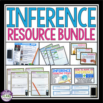 INFERENCE RESOURCE BUNDLE: Fun Printable Activities and Worksheets {Common Core}