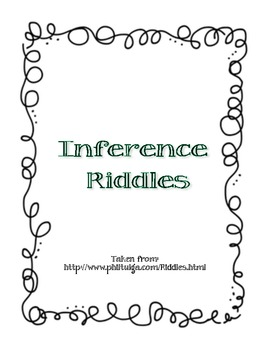 Inference Riddles