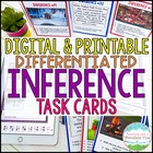 Inference Task Cards, Pictures and Text, Common Core Diffe
