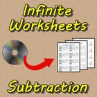 Infinite Worksheets: Subtraction (Math Worksheet Generator