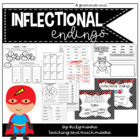 Inflectional Endings Pack { s, ed, ing } adding endings to
