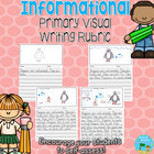 Informational Primary Visual Writing Rubric {Non-Fiction}