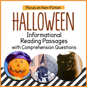 Halloween Close Reading Informational Passages and Questions