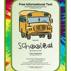Informational Text Activity:  Free Download (CCSS Aligned)