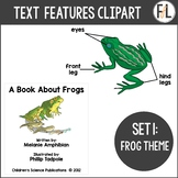 Informational Text Features {Clipart Collection - Set 1}