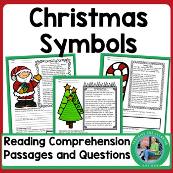 Informational Text for Christmas (Short Passages about Christmas Symbols)