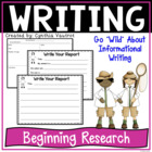 Informational Writing - Wild About Informational Writing