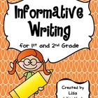 Informative Writing Packet for Primary Grades {Common Core}