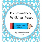 Informative/Explanatory Writing Pack Grade 2