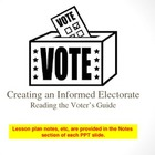 Informed Electorate - Reading a Voter's Guide