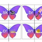 Initial Blends Butterflies